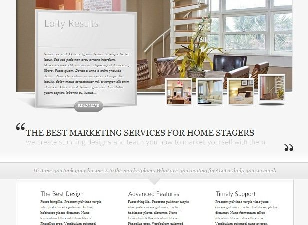 Include Professional Web Creation & Consulting Services in your Home Staging Training Package