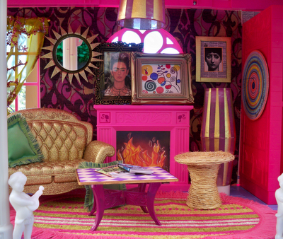 barbie livng room