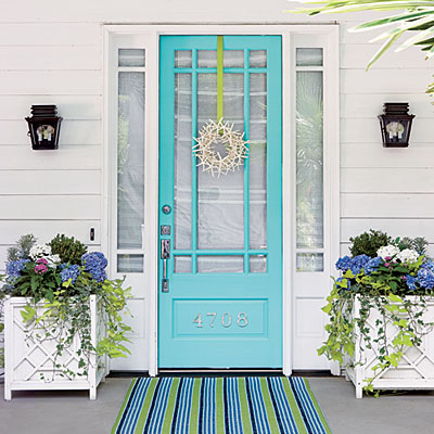 Your front door says a lot. What message are you conveying?