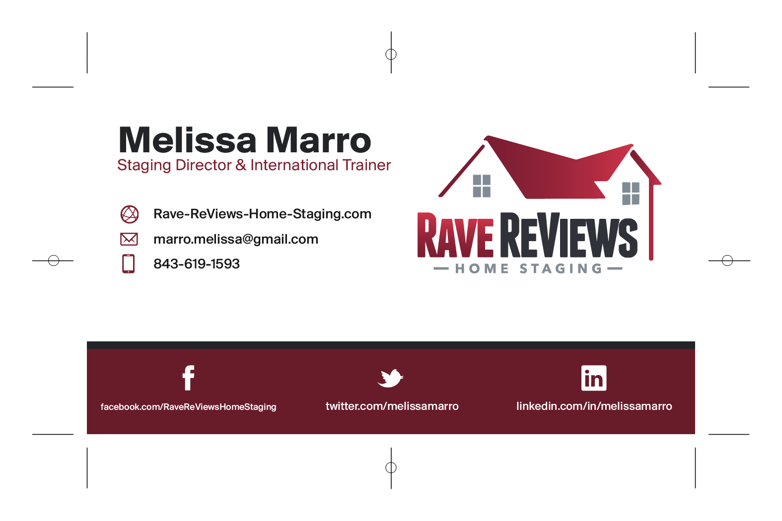 RaveReViews card