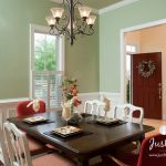 just perfect dining room