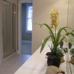 staged bathroom counters