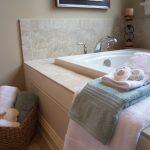 staged bath