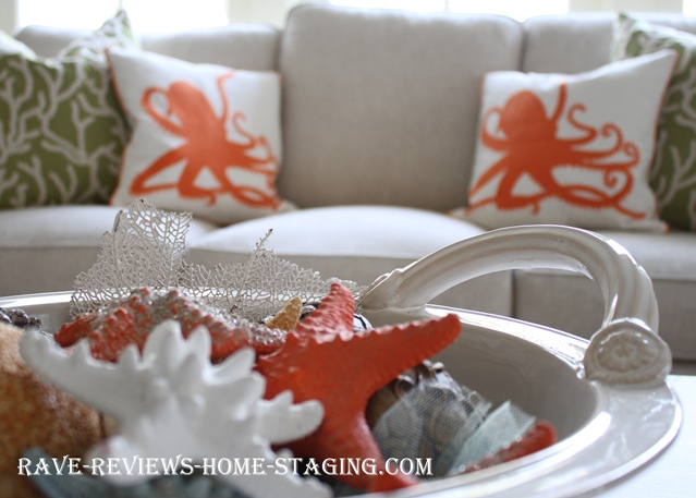 Coastal Home Decor coastal living room ideas Coastal Home Decor Jacksonville Home Staging Ideas Rave