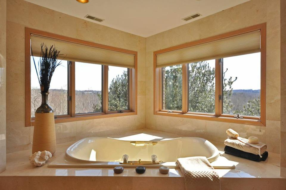 luxury bathroom home staging in mahwah nj