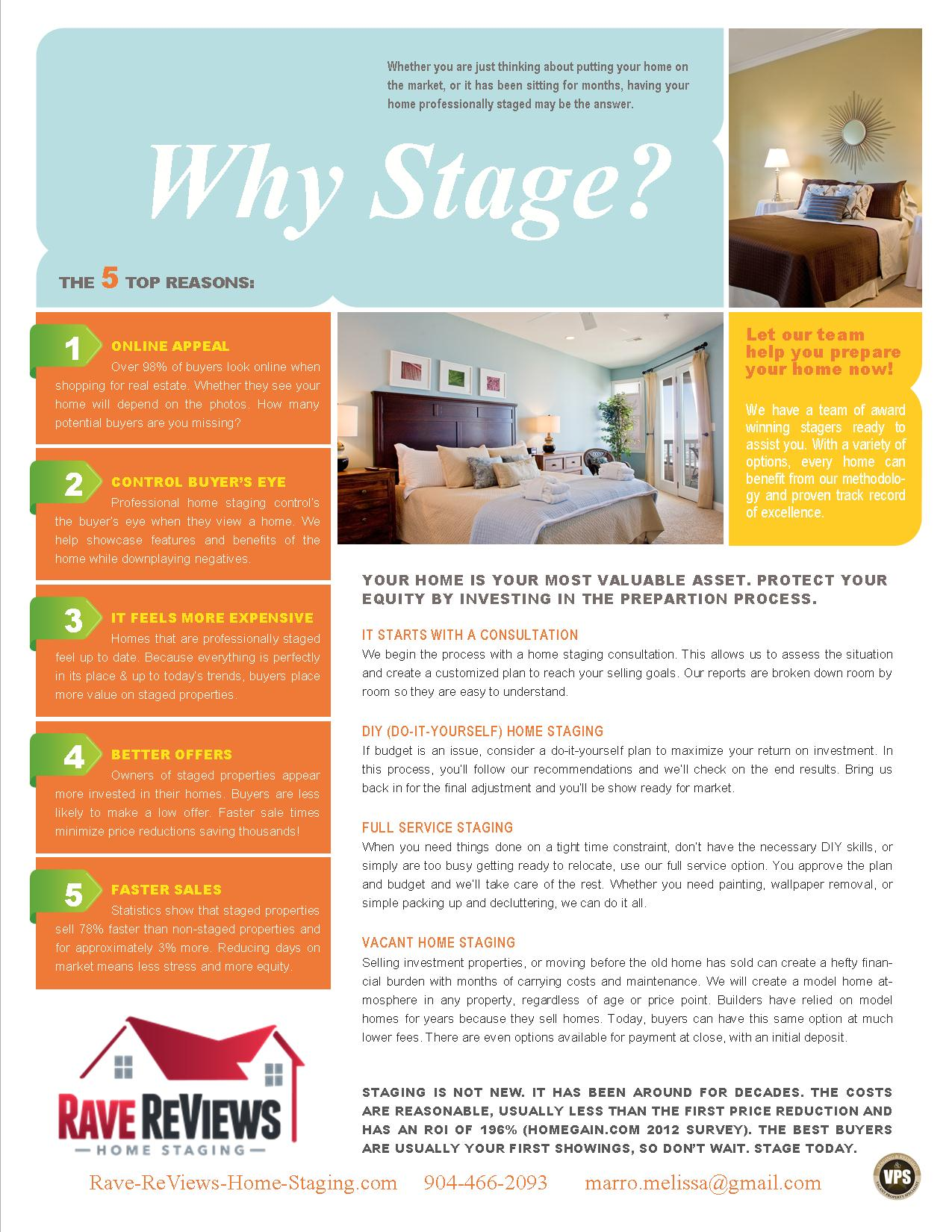 why stage flyer rave home staging training why should you have your home professionally staged