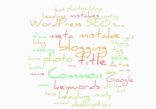 How a word cloud can help you with keyword usage in blog writing