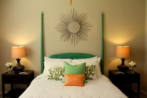 using a bed in a bag with home staging
