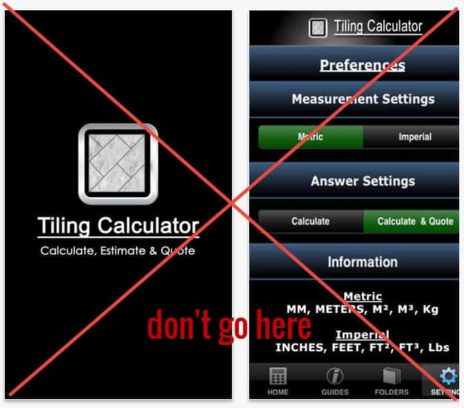 Tile Calculate