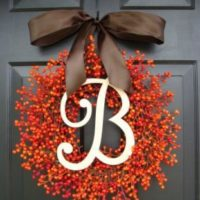 using wreaths when staging your home